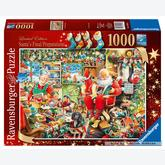 Jigsaw puzzle 1000 pcs - Santa Final Preparation  (by Ravensburger)