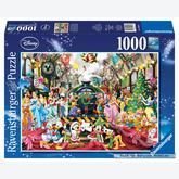 1000 pcs - Christmas at the Station - Disney (by Ravensburger)