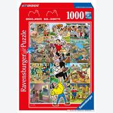 Jigsaw puzzle 1000 pcs - Adventures of Willy and Wanda - Willy and Wanda (by Ravensburger)
