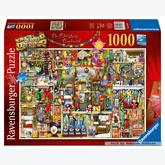 1000 pcs - The Christmas Cupboard - Colin Thompson (by Ravensburger)