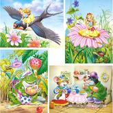 Jigsaw puzzle 8 pcs - Thumbelina - Progressive (by Castorland)