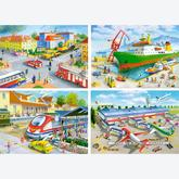 Jigsaw puzzle 30 pcs - Transport and Travel - Progressive (by Castorland)