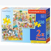 Jigsaw puzzle 70 pcs - Animal Doctor - Progressive (by Castorland)