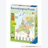 Jigsaw puzzle 100 pcs - Netherlands map - XXL (by Ravensburger)