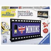108 pcs - Movie Minions British - Puzzle 3D (by Ravensburger)