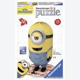 54 pcs - Minions Buddies - Puzzle 3D (by Ravensburger)