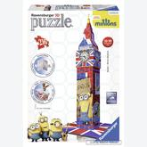216 pcs - Big Ben Minions - Puzzle 3D (by Ravensburger)