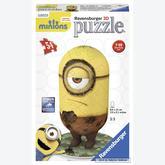 54 pcs - Cro Minion - Puzzle 3D (by Ravensburger)