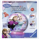 Jigsaw puzzle 72 pcs - Frozen - Puzzle 3D (by Ravensburger)