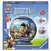 Jigsaw puzzle 72 pcs - Paw Patrol - Puzzle 3D (by Ravensburger)