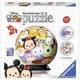 Jigsaw puzzle 72 pcs - Tsum Tsum - Puzzle 3D (by Ravensburger)
