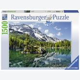 Jigsaw puzzle 1500 pcs - Magic in the Mountains (by Ravensburger)