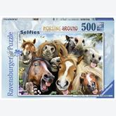 Jigsaw puzzle 500 pcs - Selfie of Horses (by Ravensburger)
