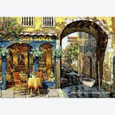 Jigsaw puzzle 300 pcs - La Palette de Notre Dame - Viktor Shvaiko (by Educa)