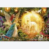 Jigsaw puzzle 1000 pcs - Peacock Feather Fairy (by Educa)