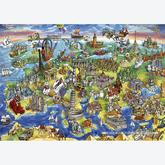 Jigsaw puzzle 1000 pcs - European World (by Educa)