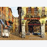 Jigsaw puzzle 1500 pcs - Colours of Italy - Salumeria - Viktor Shvaiko (by Educa)