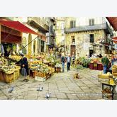 Jigsaw puzzle 3000 pcs - La Vucciria Market - Palermo (by Educa)