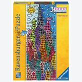 Jigsaw puzzle 1000 pcs - Fun Sun on the Right Night - James Rizzi (by Ravensburger)
