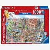 1000 pcs - Amsterdam - Fleroux (by Ravensburger)