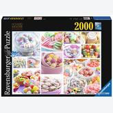 2000 pcs - Sweets (by Ravensburger)
