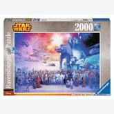 Jigsaw puzzle 2000 pcs - Star Wars Universum - Star Wars (by Ravensburger)