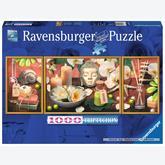 Jigsaw puzzle 1000 pcs - Full Harmony - Triptychon (by Ravensburger)