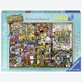 Jigsaw puzzle 1000 pcs - The inventor cupboard - Colin Thompson (by Ravensburger)