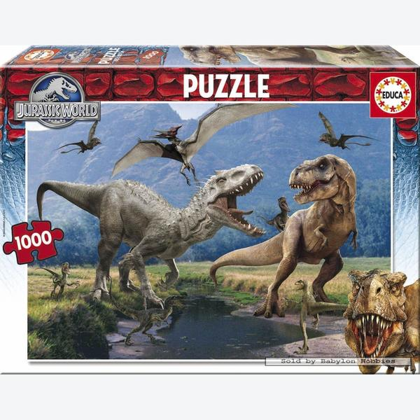 1000 Pcs Jurassic World By Educa Babylon Hobbies Puzzles
