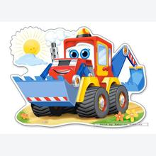 Jigsaw puzzle 12 pcs - Funny Digger - Extra Large Pieces (by Castorland)