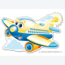 Jigsaw puzzle 12 pcs - Sunny Flight - Extra Large Pieces (by Castorland)