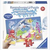 12 pcs - Under the Sea - Waterproof - Aqua Puzzles (by Ravensburger)