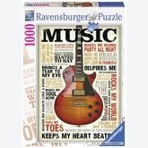 Jigsaw puzzle 1000 pcs - Passion for Music (by Ravensburger)