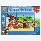 Jigsaw puzzle 24 pcs - Brave Paw Patrol (by Ravensburger)