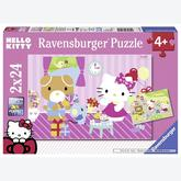 24 pcs - Hello Kitty and her Friends - Hello Kitty (by Ravensburger)