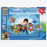 Jigsaw puzzle 12 pcs - Paw Patrol (by Ravensburger)