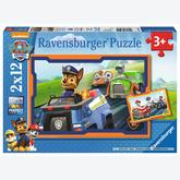 12 pcs - Paw Patrol (by Ravensburger)