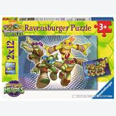 12 pcs - Half Shell Heroes (by Ravensburger)