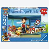 Jigsaw puzzle 24 pcs - Helpfull Paw Patrol (by Ravensburger)