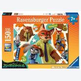 Jigsaw puzzle 150 pcs - Zootropolis - XXL (by Ravensburger)