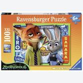 100 pcs - Zootropolis - XXL (by Ravensburger)