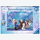 Jigsaw puzzle 100 pcs - Sparkling Snow - XXL (by Ravensburger)