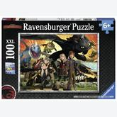 100 pcs - Dragon Friends - How to Train Your Dragon (by Ravensburger)