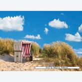 Jigsaw puzzle 500 pcs - Lonely Beach Chair (by Ravensburger)