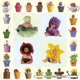 Jigsaw puzzle 1000 pcs - Flower and Pot babies - Anne Geddes (by Schmidt)