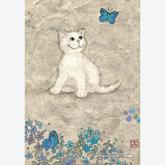 500 pcs - White Kitty by Jane Crowther (by Heye)