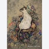 Jigsaw puzzle 1000 pcs - Siamese by Jane Crowther (by Heye)