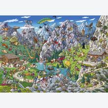 Jigsaw puzzle 1000 pcs - Alpine Fun - Cartoon (by Heye)