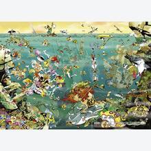 Jigsaw puzzle 1000 pcs - Under Water - Calligaro (by Heye)