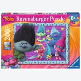 200 pcs - Trolls - XXL (by Ravensburger)